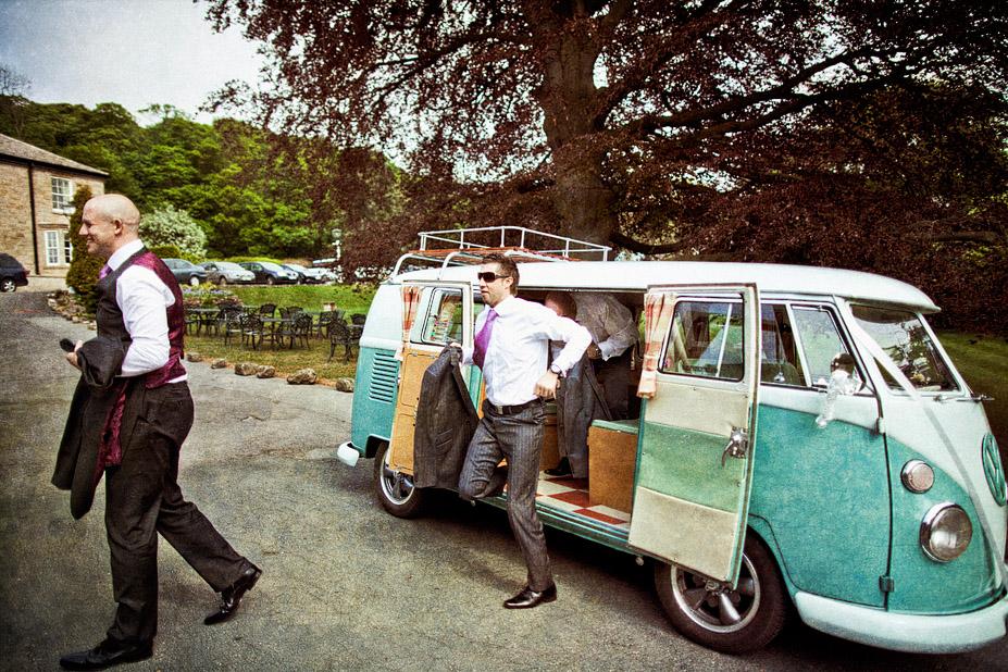 Outdoor yorkshire wedding