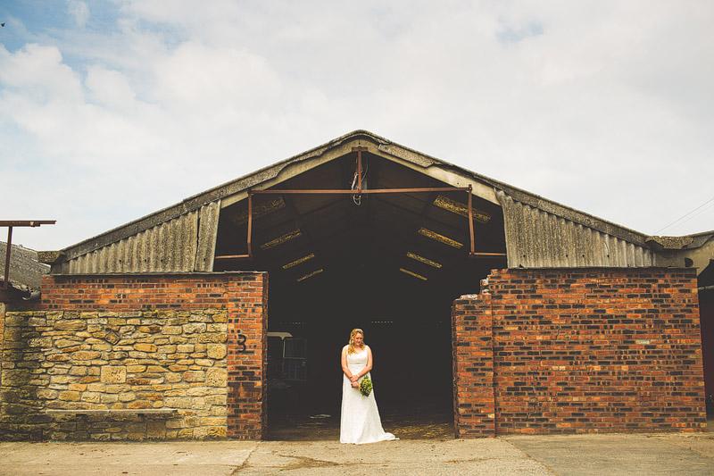 Northumberland farm wedding