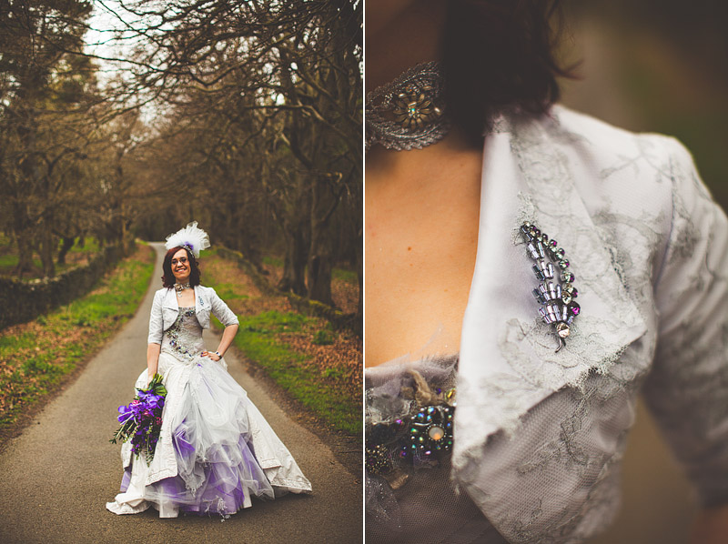Terry Fox wedding dress
