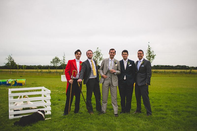 South Farm wedding