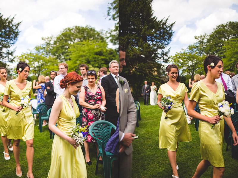 lime bridesmaid dress