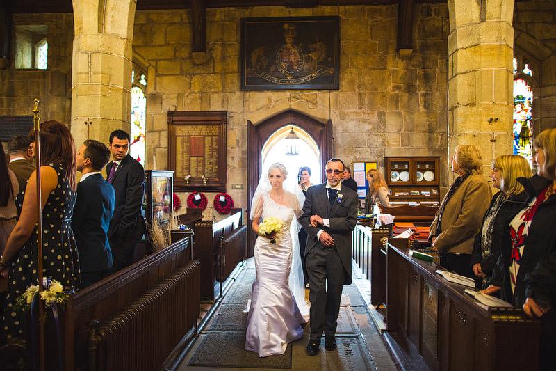 Bradfield church wedding