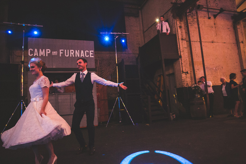 Camp furnace wedding Liverpool126 Camp and Furnace wedding in Liverpool