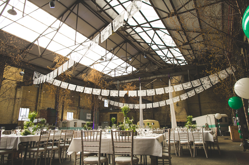 warehouse wedding venue Camp and Furnace wedding in Liverpool