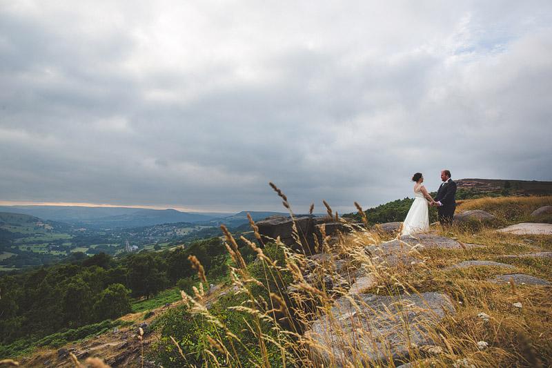 wedding photos at the Maynard in Grindleford