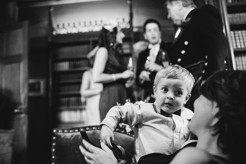 Sorn Castle wedding