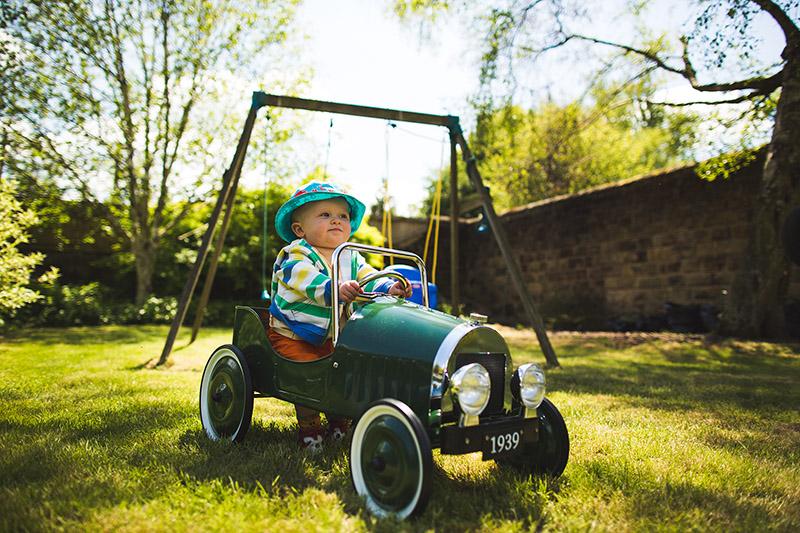 vintage children's car