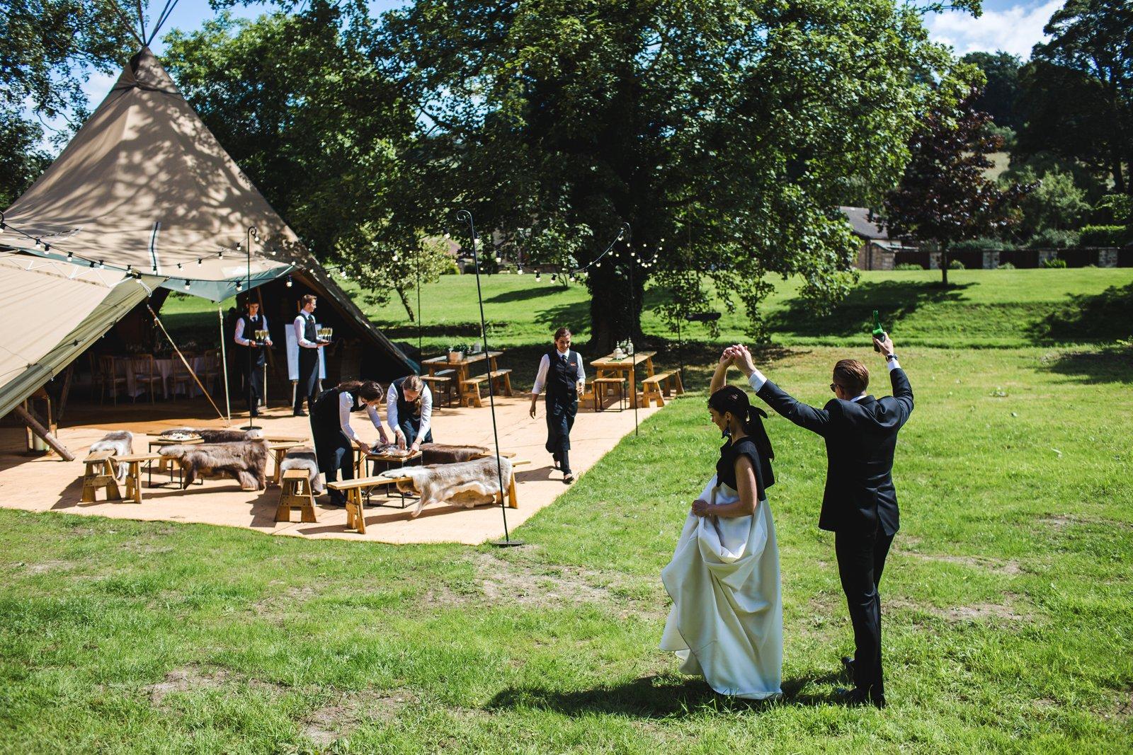 Papakata tipi wedding