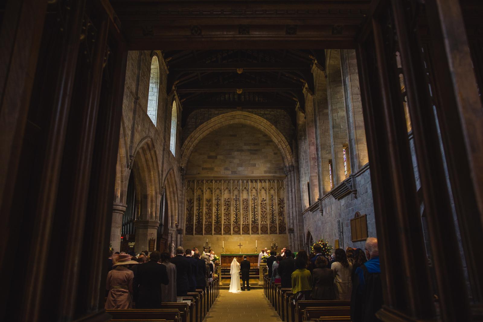 wedding in Bolton Abbey