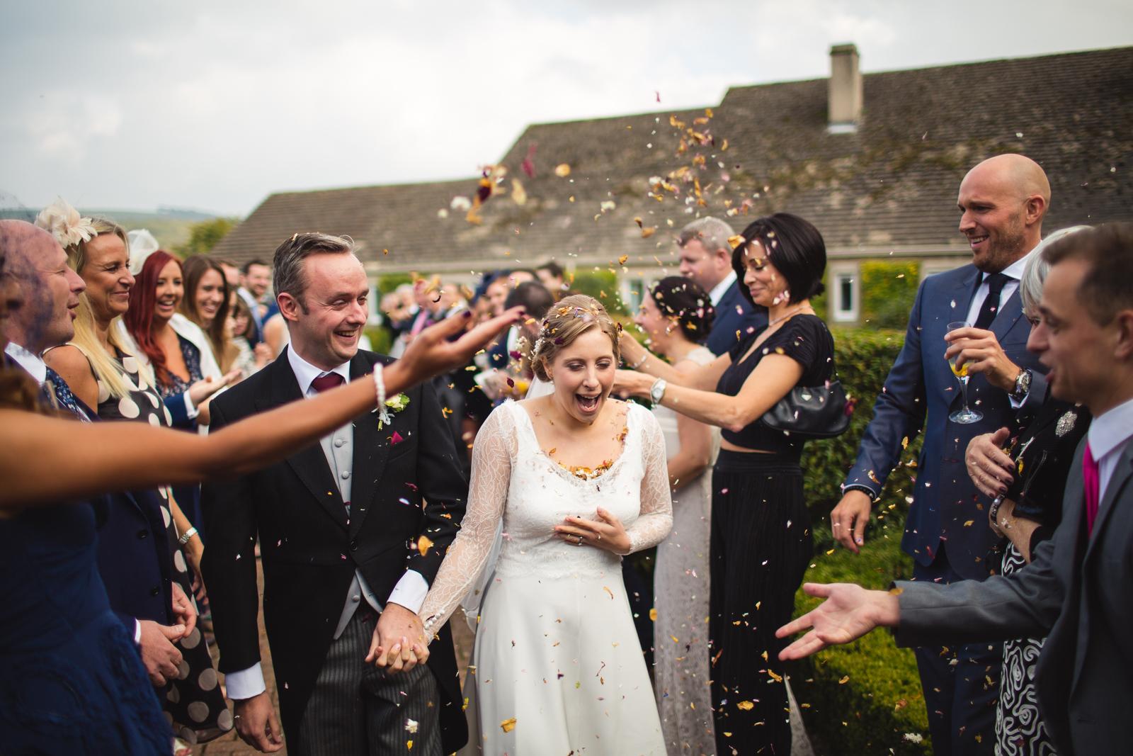 Devonshire arms wedding