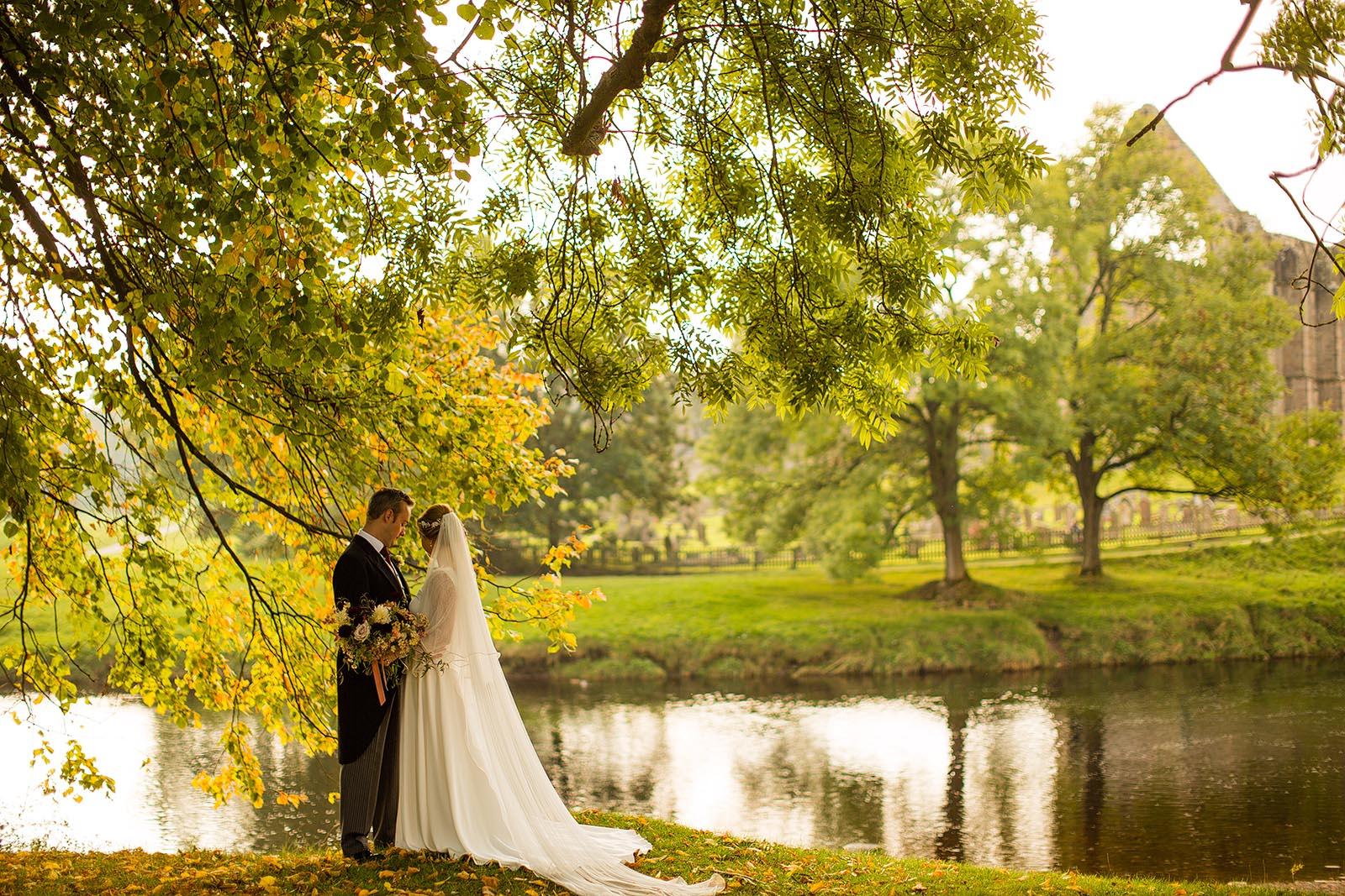 wedding at bolton abbey