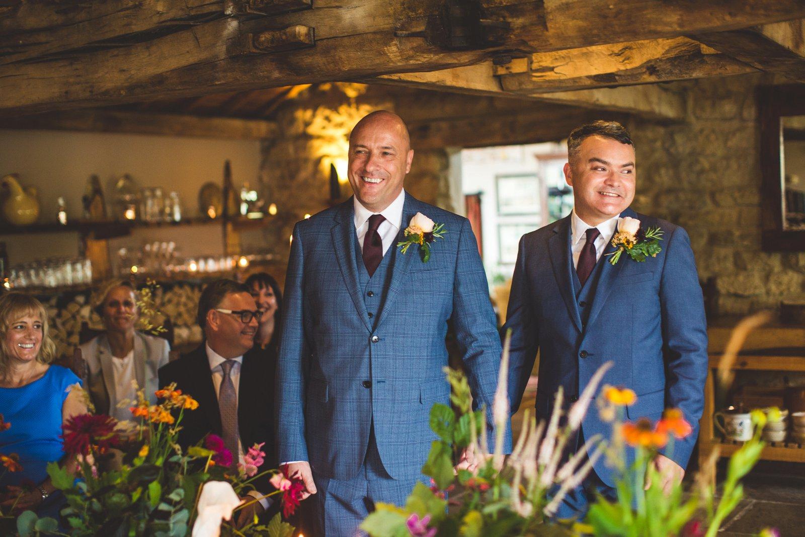 gay wedding suit