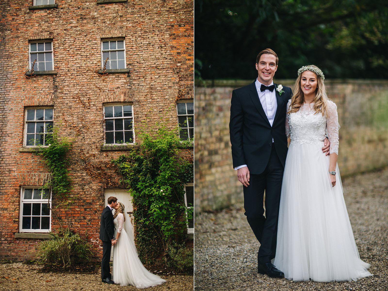 wedding at Saltmarshe Hall