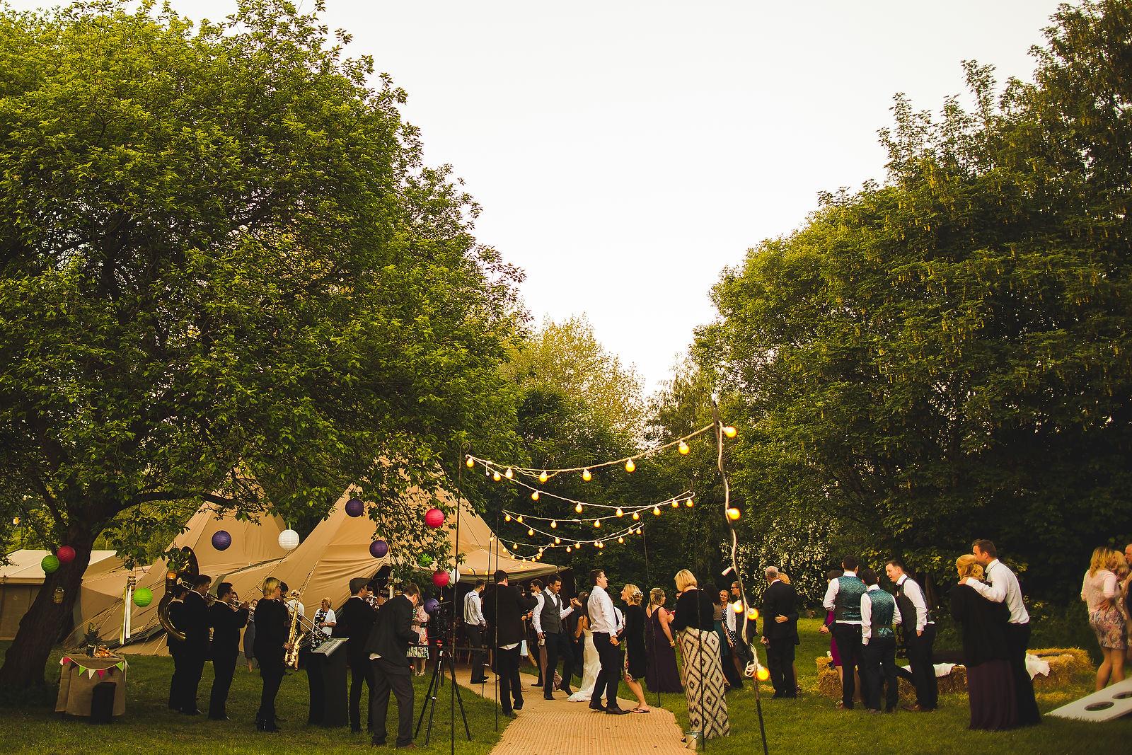 leeds wedding venue tipi