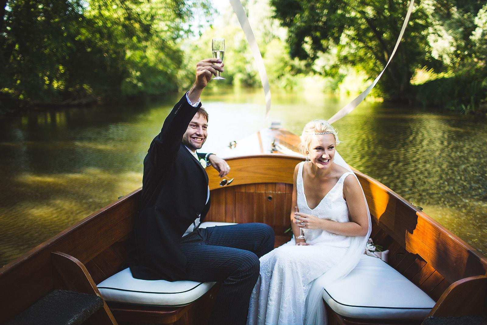 oxford boat wedding