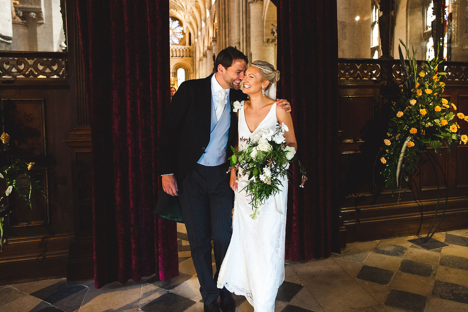 oxford cathedral wedding
