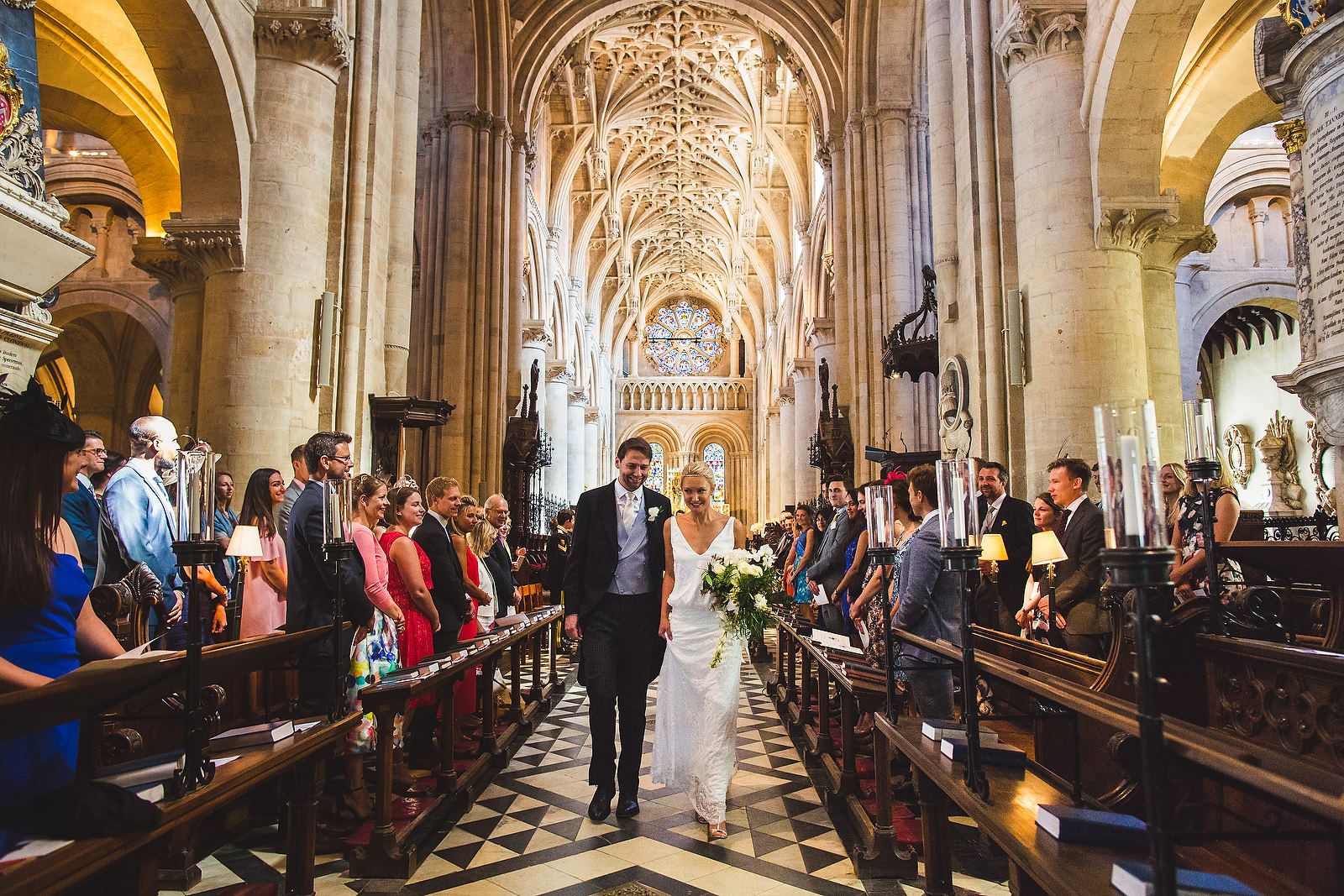 wedding oxford cathedral