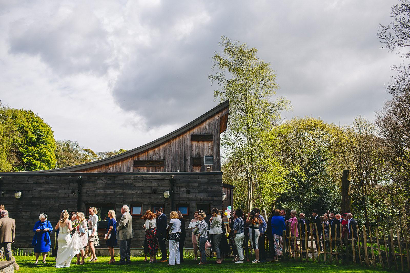 Ecclesall woods wedding