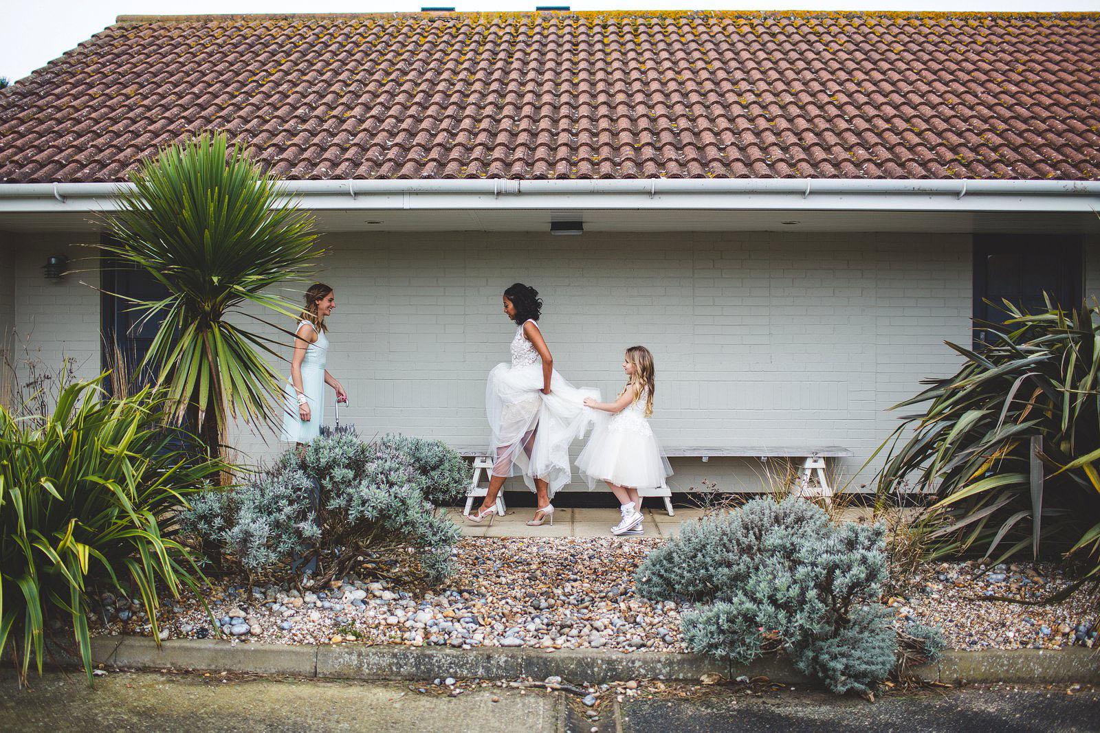 Camber sands wedding venue