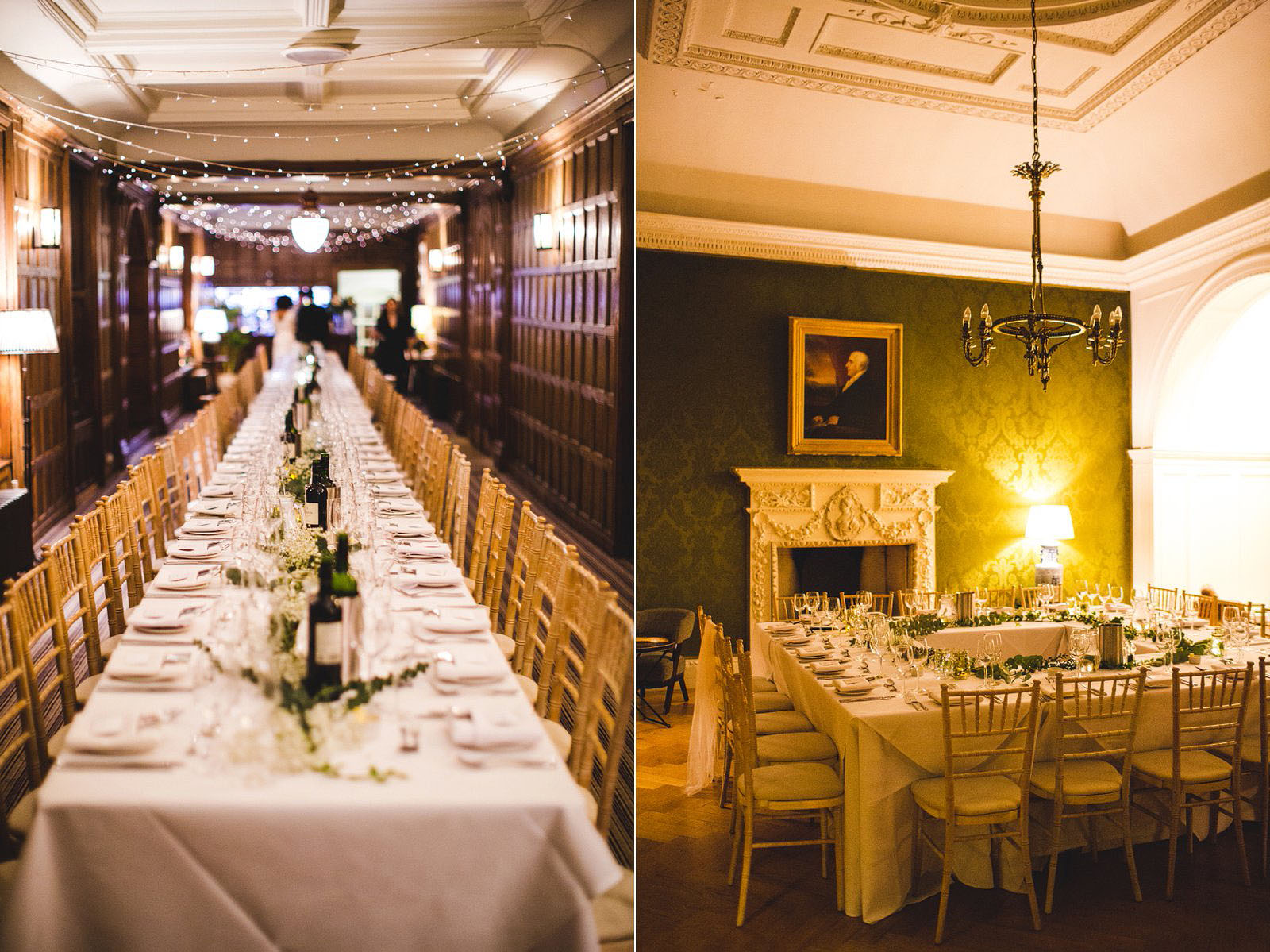 A Winter Wedding At Grays Court In York