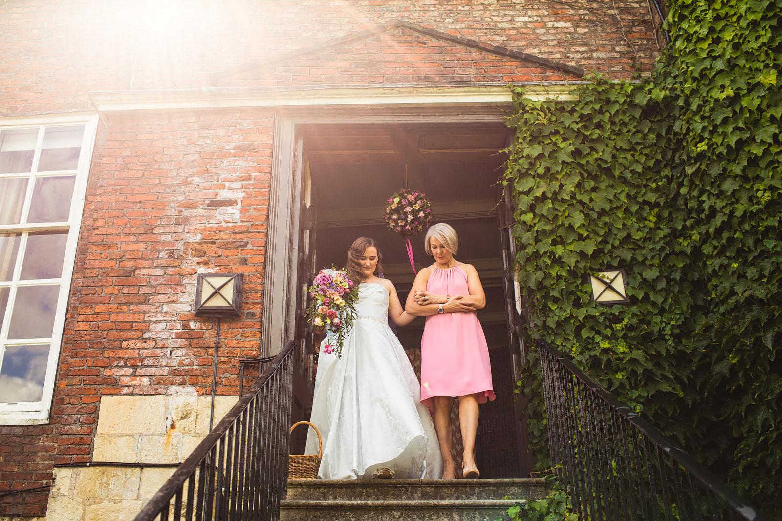 wedding at Grays Court
