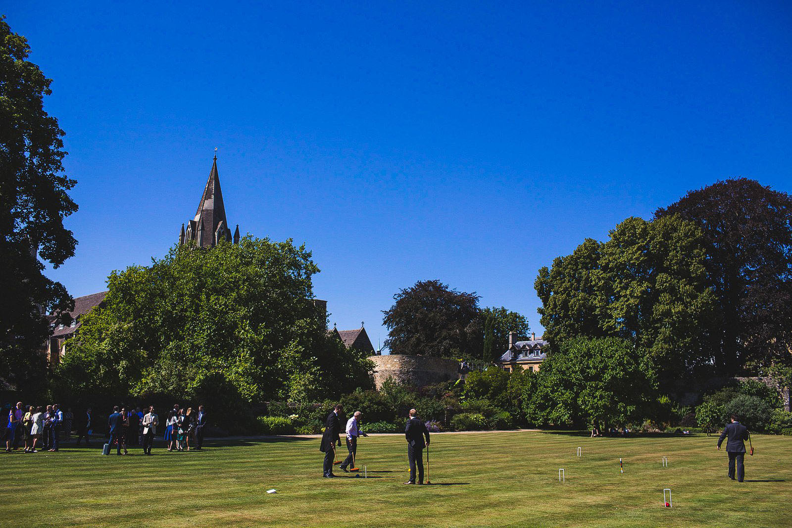 Oxford University wedding