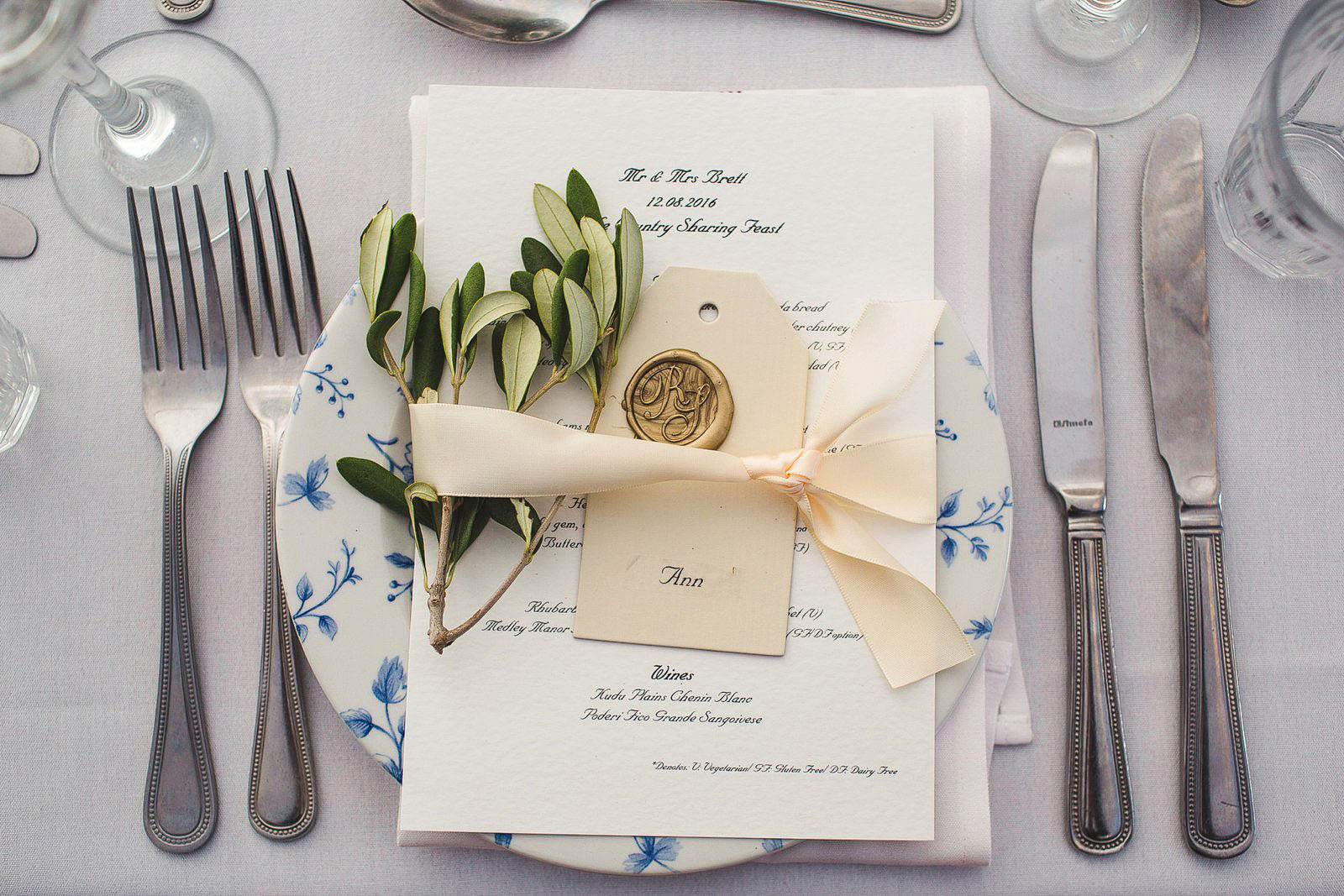 wedding stationary in Oxford