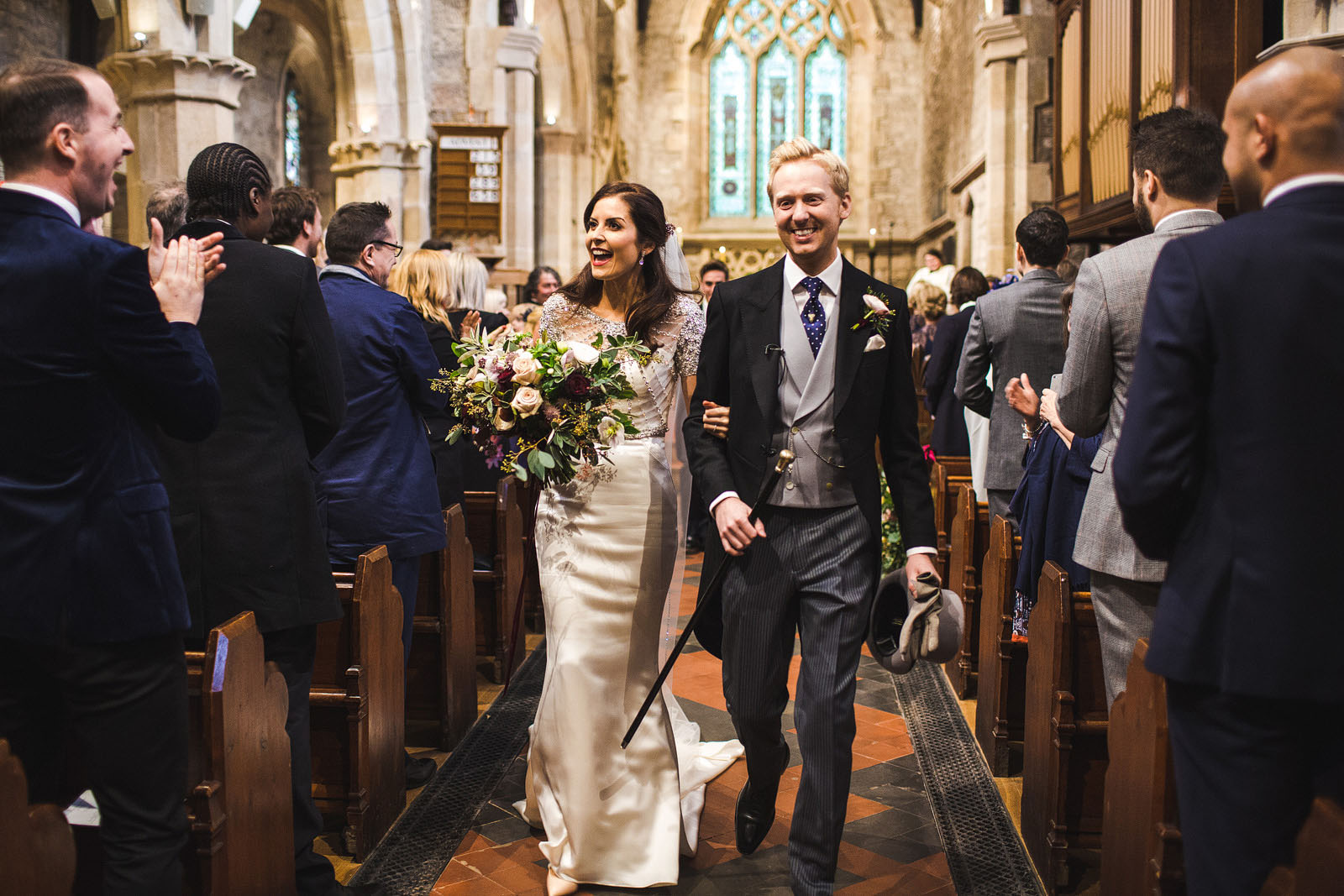 Hathersage church wedding