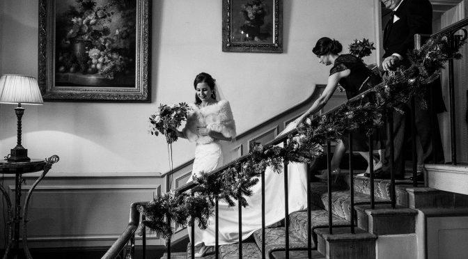 Hassop Hall Hathersage wedding