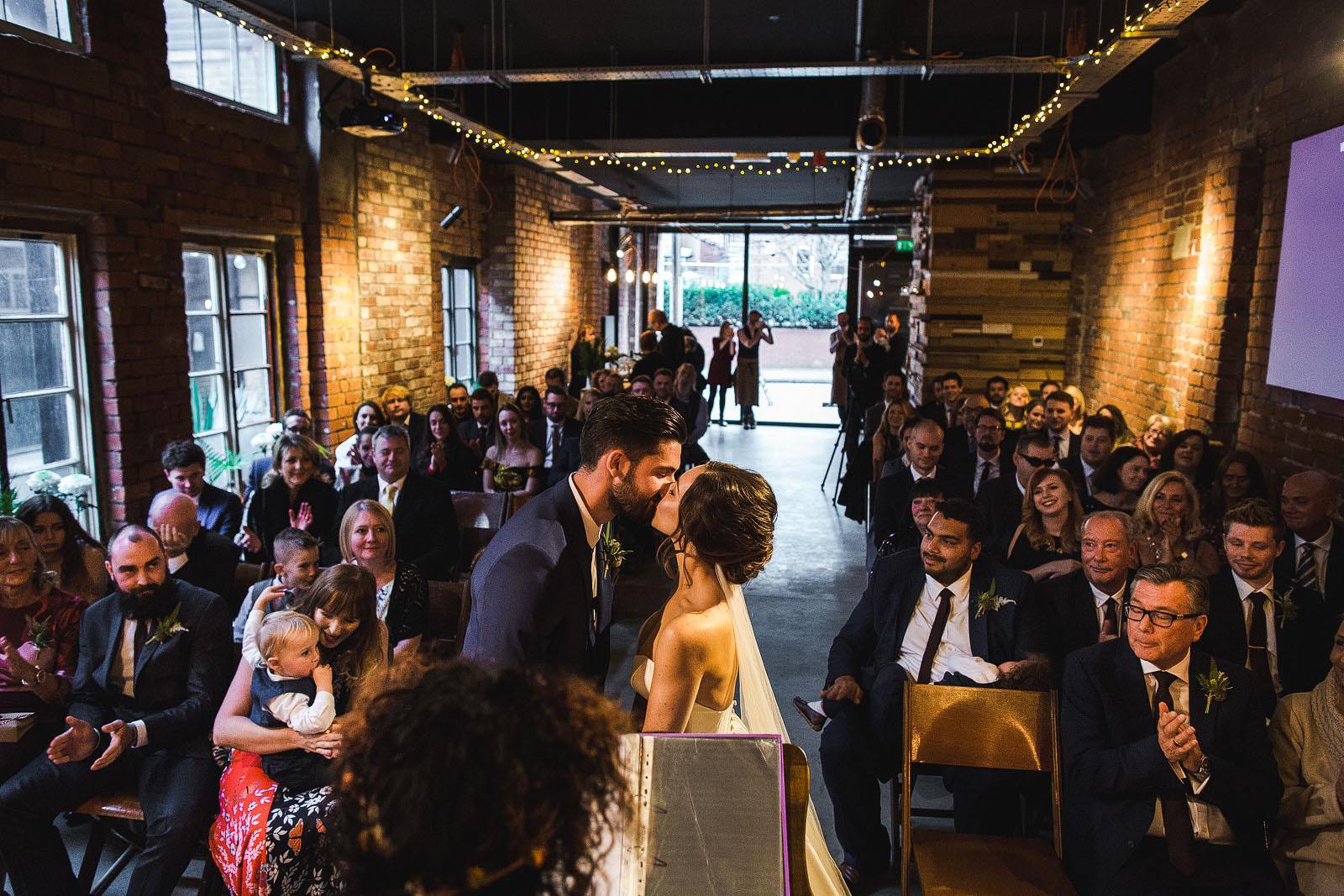 Warehouse wedding industrial Sheffield