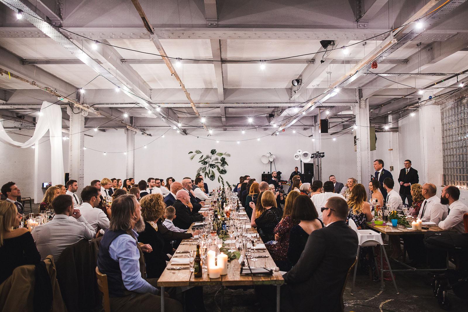 Sheffield warehouse wedding