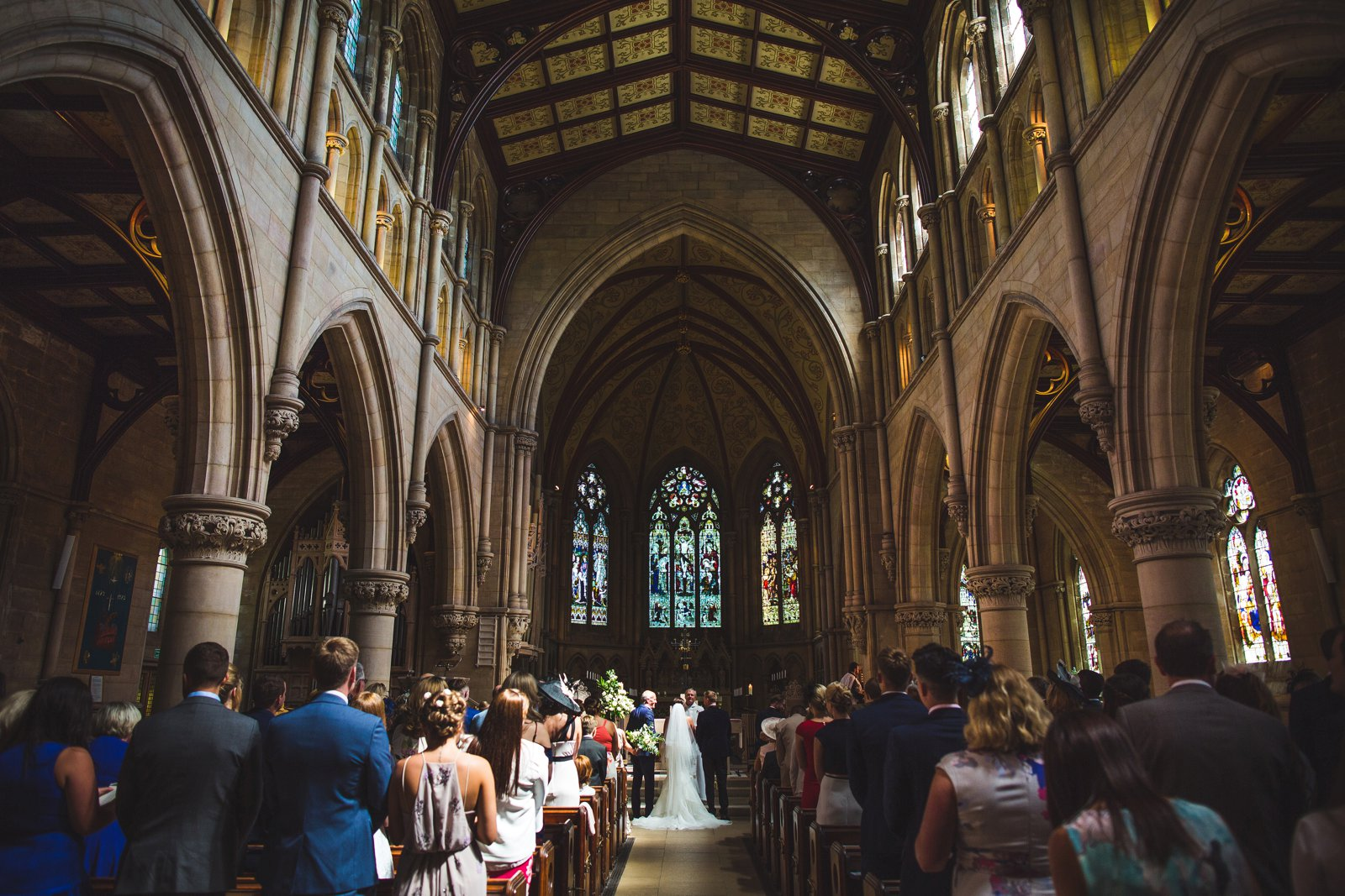 Ranmoor church wedding Sheffield