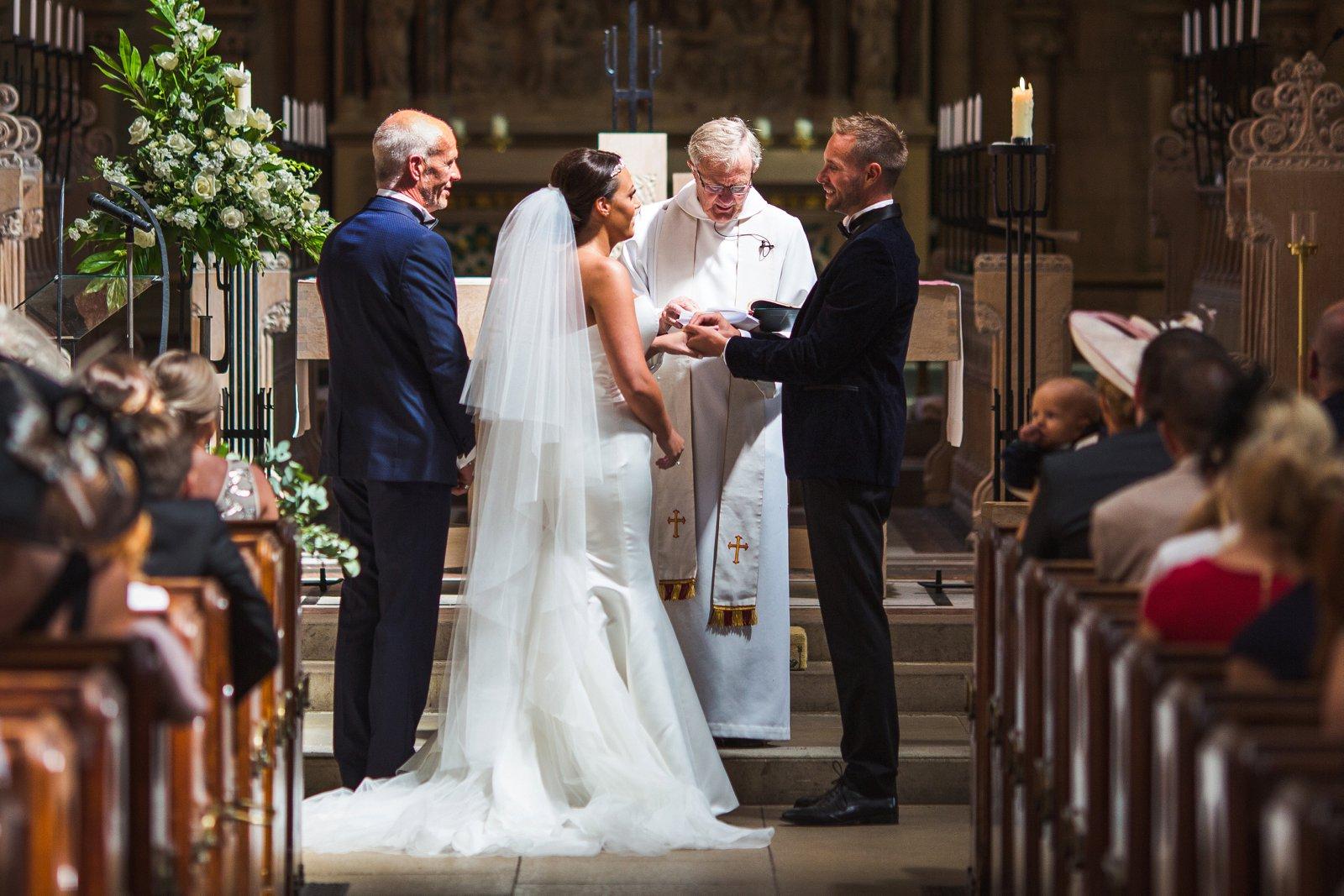 Church wedding England