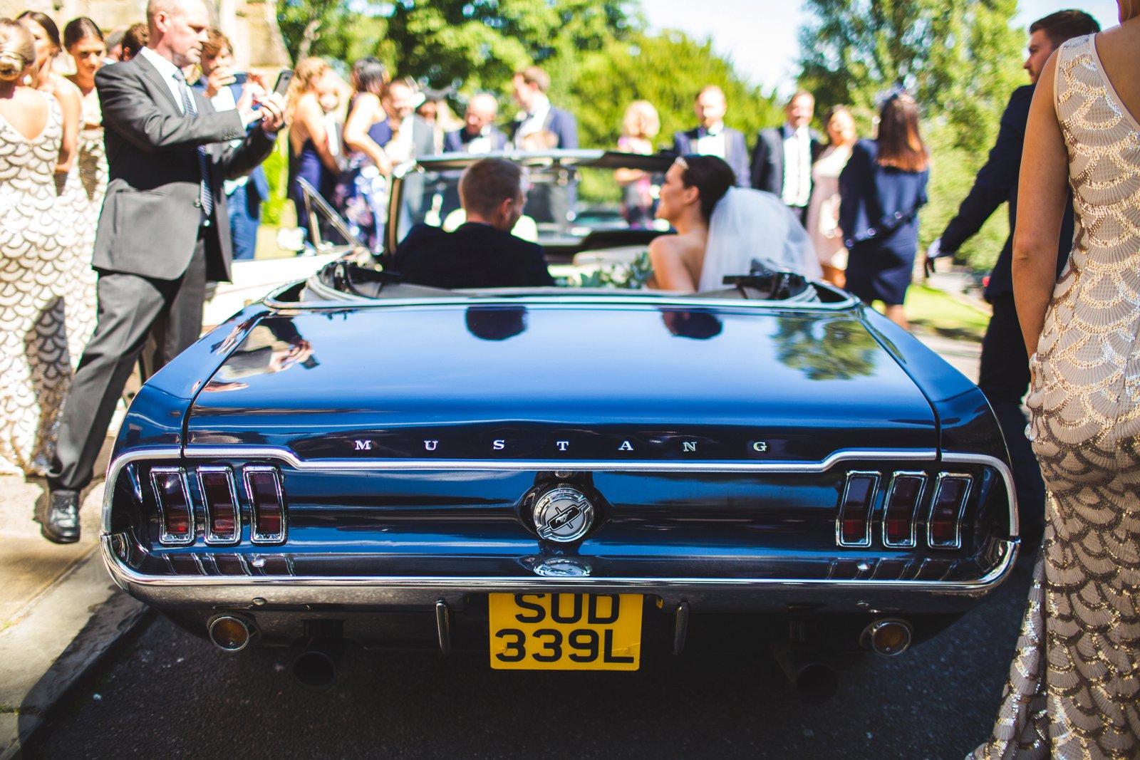 Sheffield wedding car