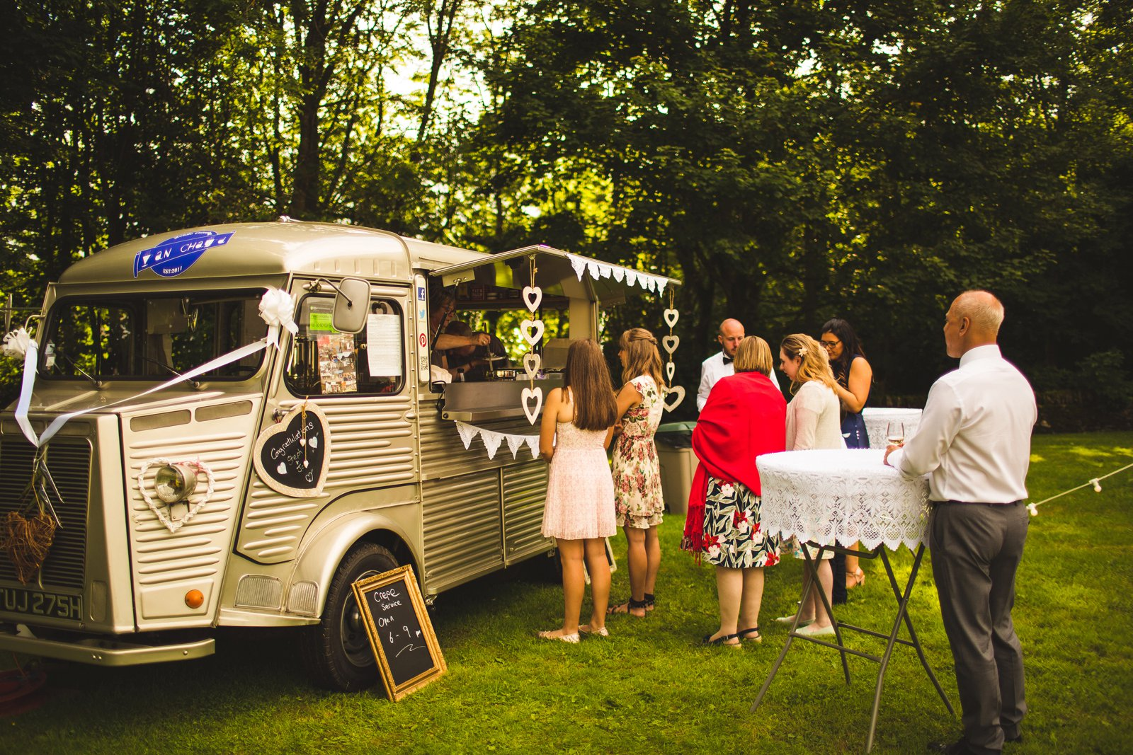 Sheffield wedding food van