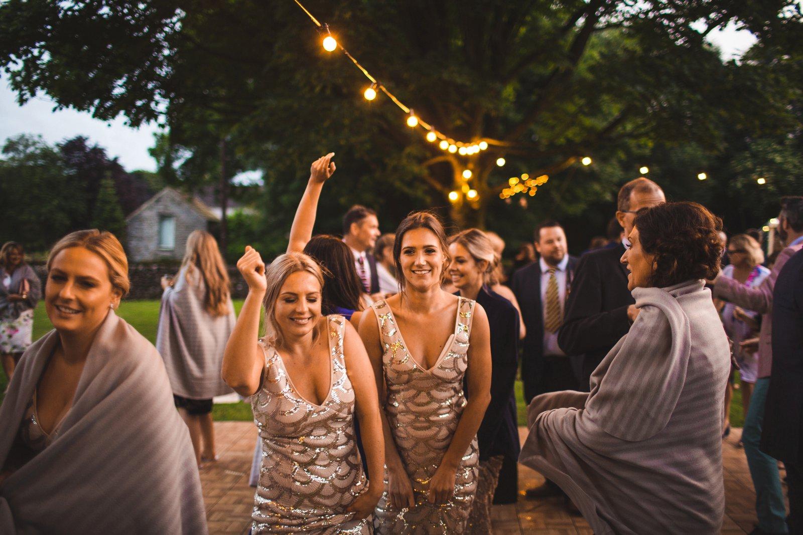 outdoor wedding in England