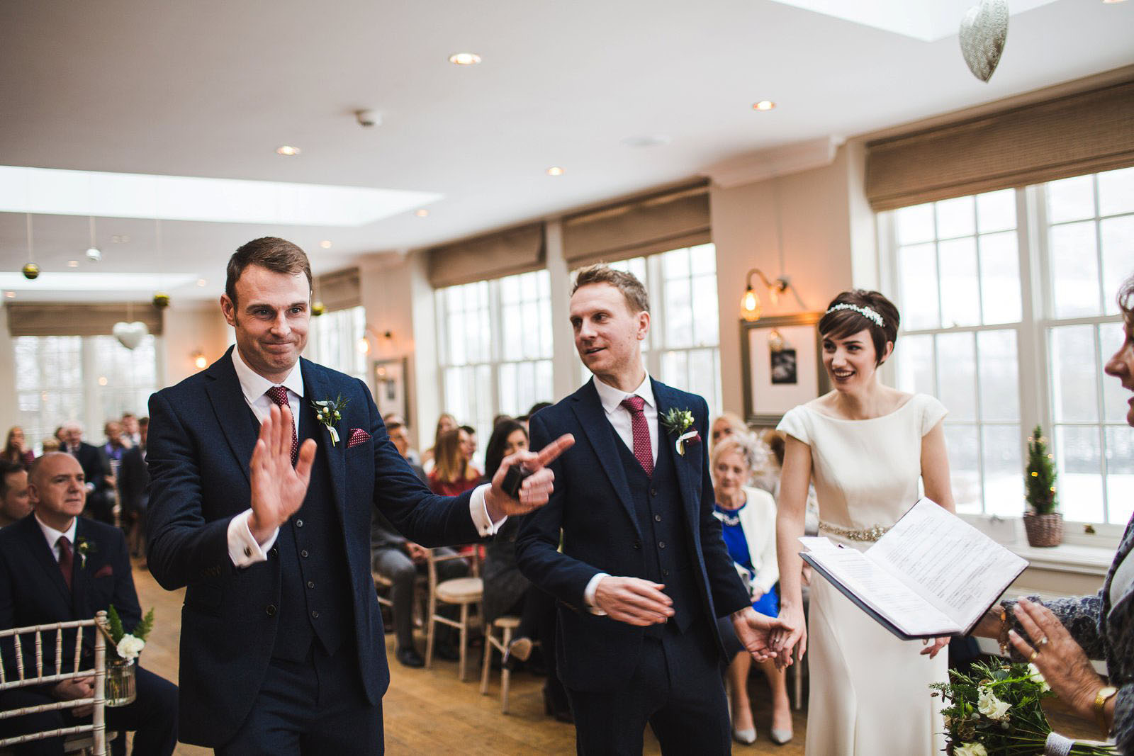 Losehill house wedding