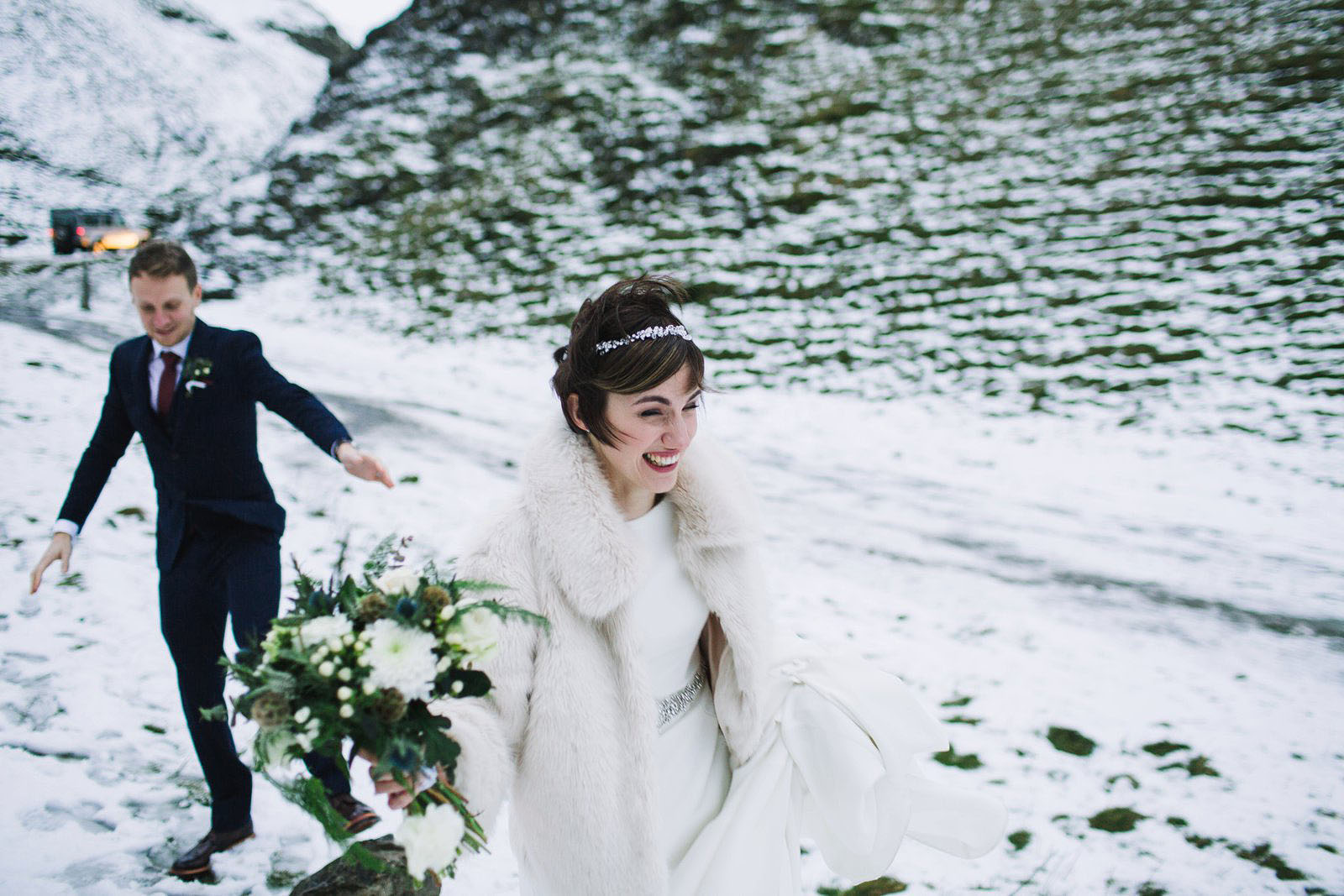 winter wedding photographers