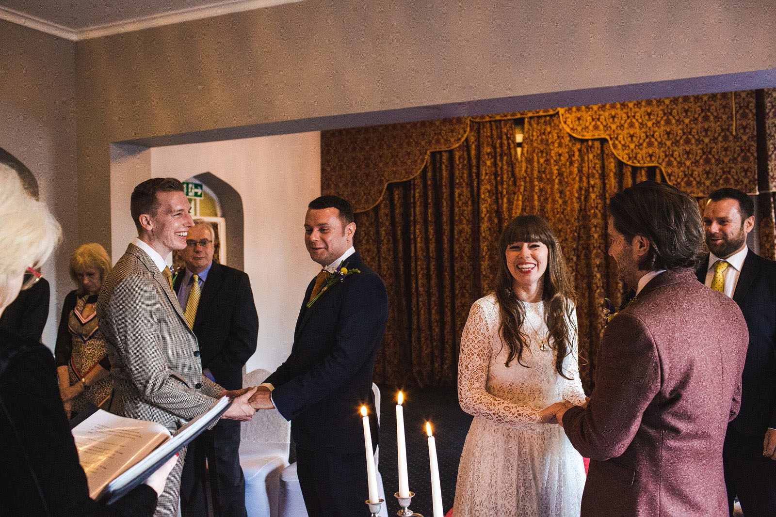 double wedding ceremony