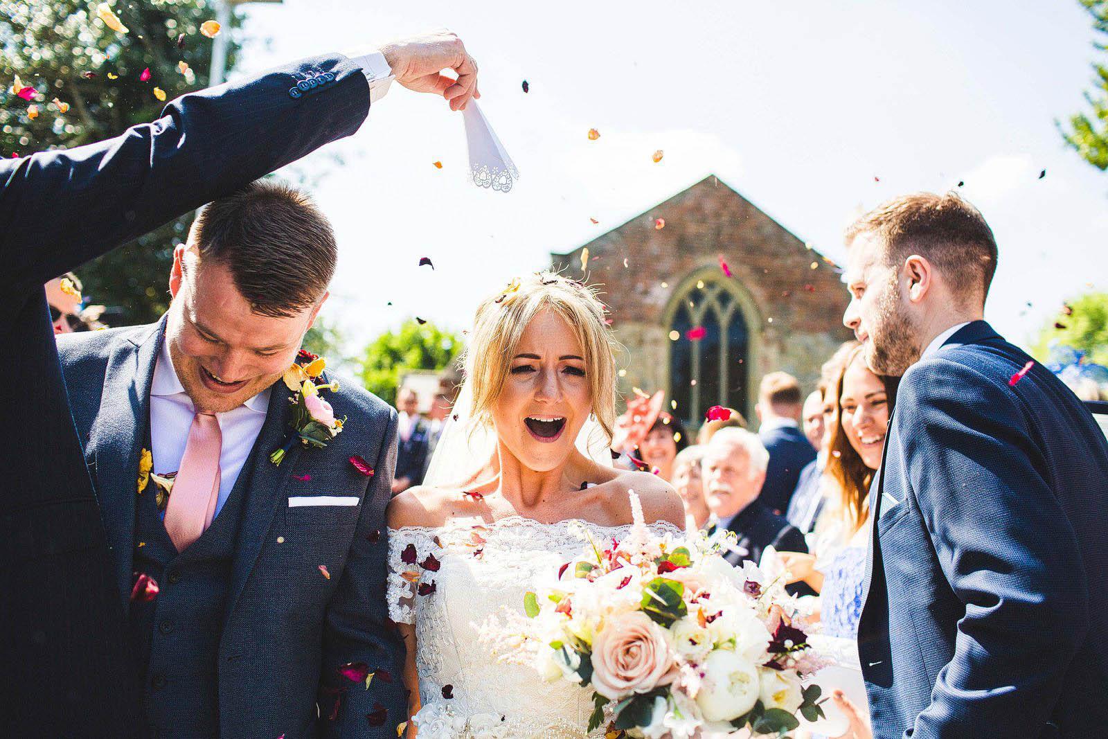 Hull church wedding