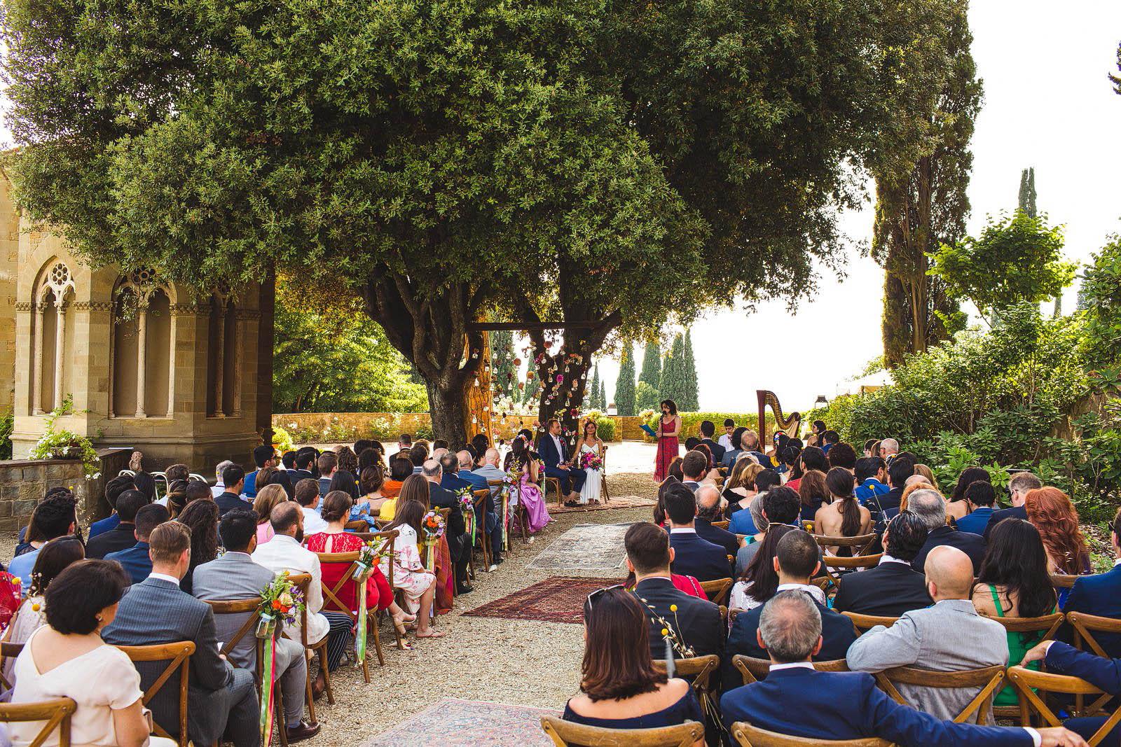florence villa wedding
