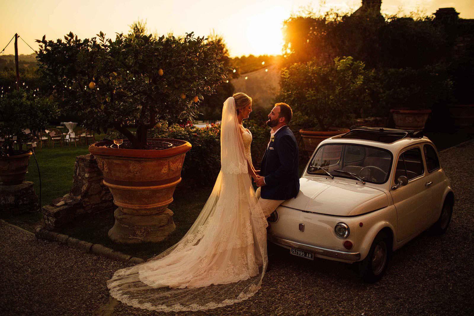 Florence villa wedding Italy