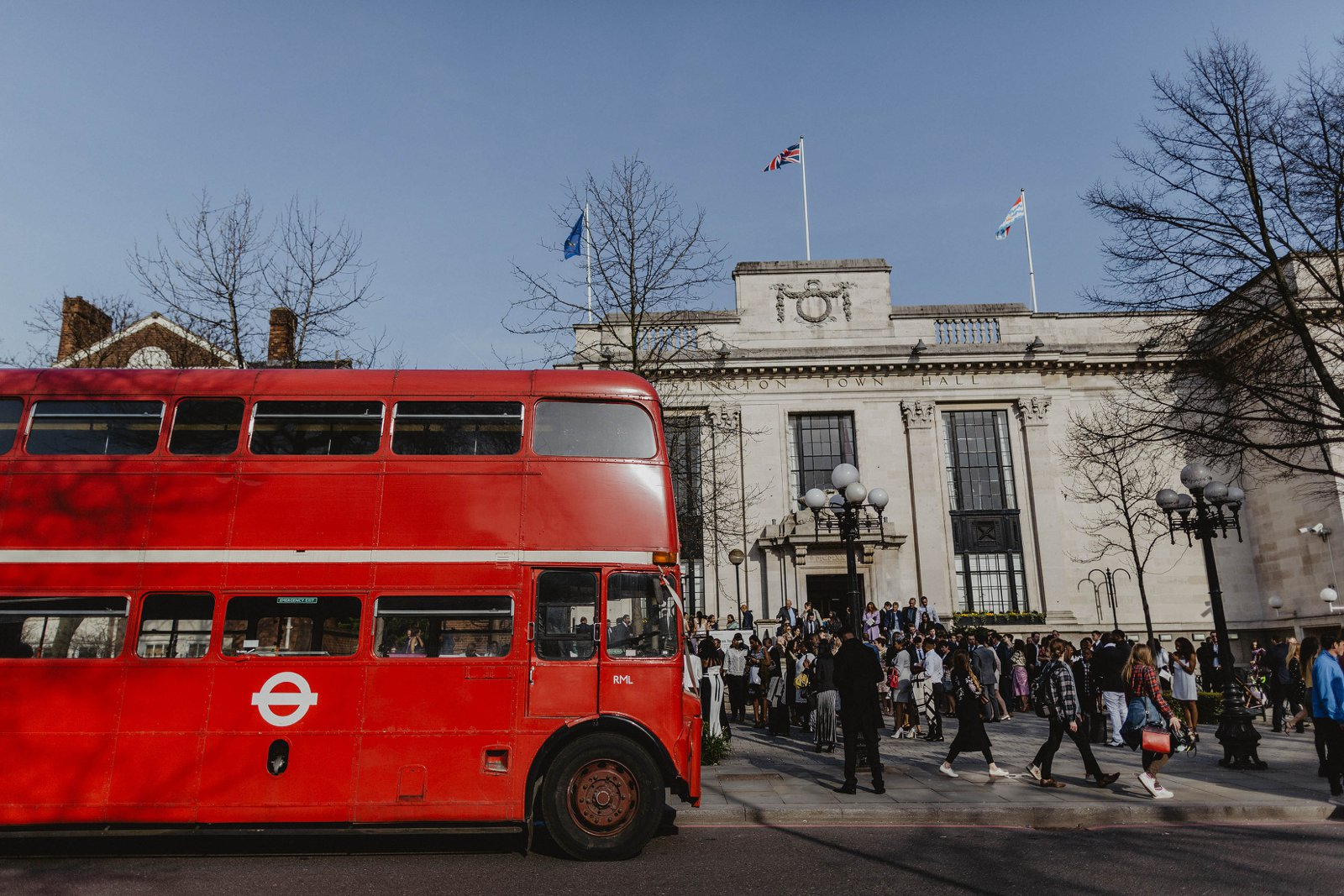 London red wedding bus hire