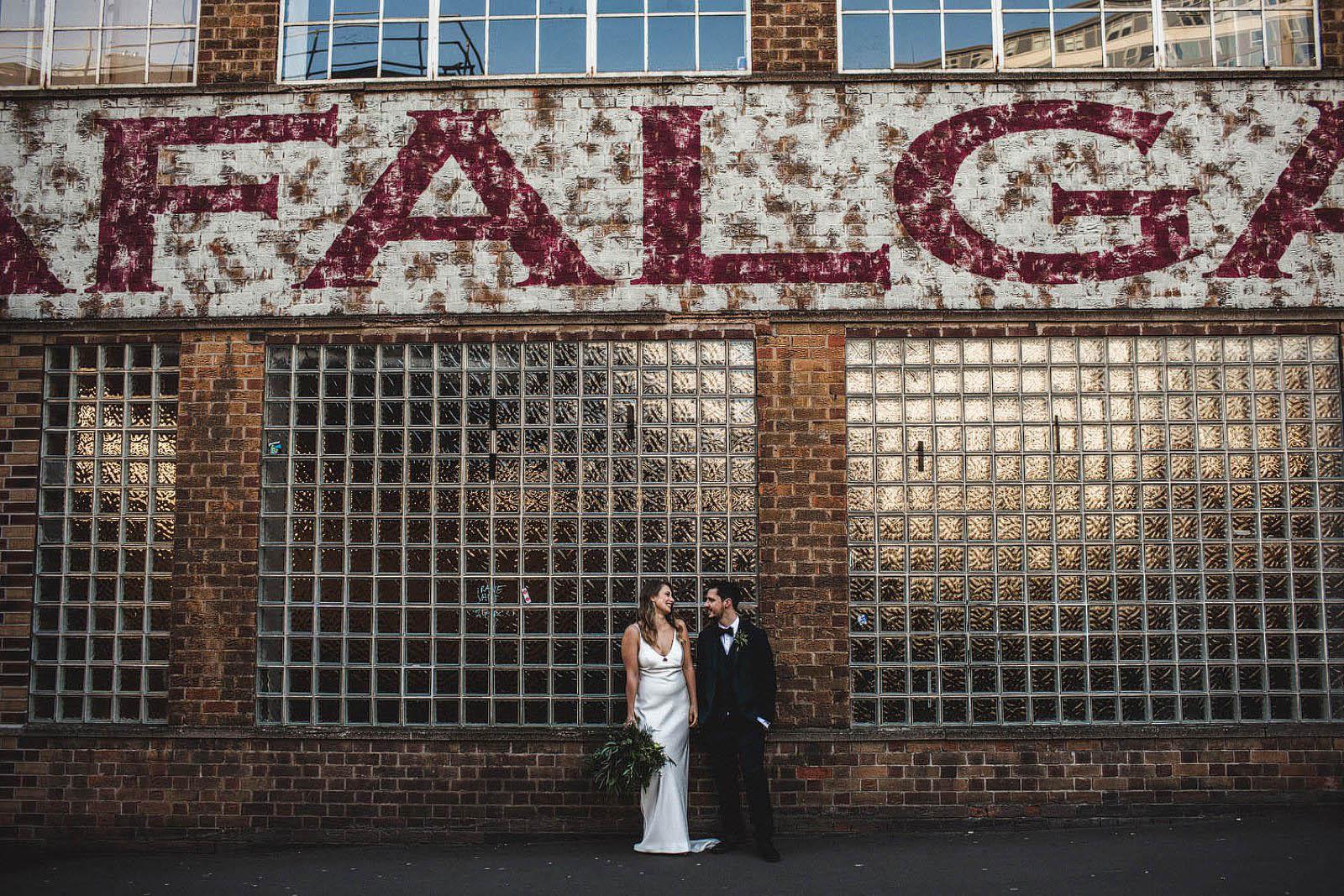 Trafalgar warehouse wedding