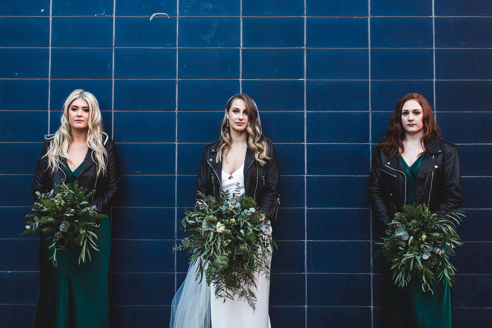 Cool bridesmaids