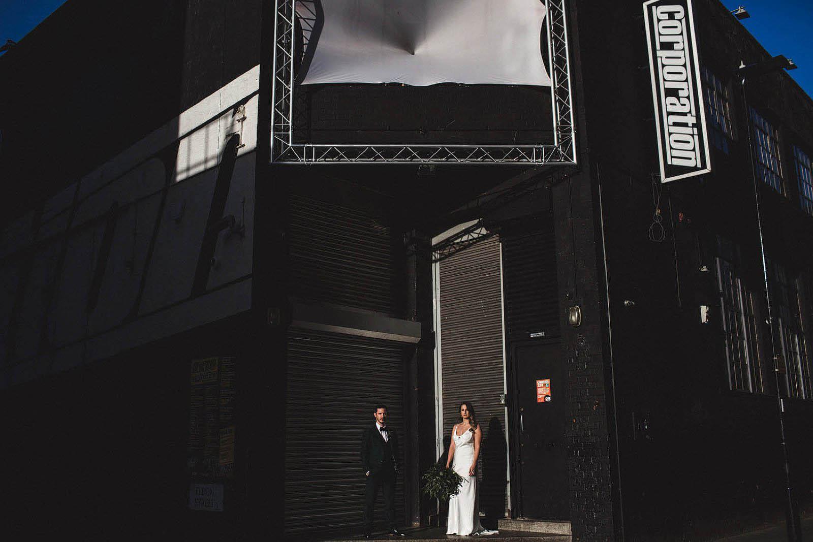 Cool Sheffield wedding