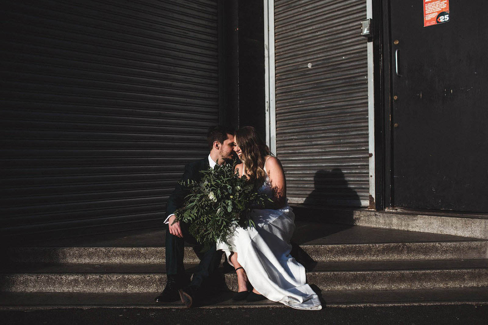 February wedding photos