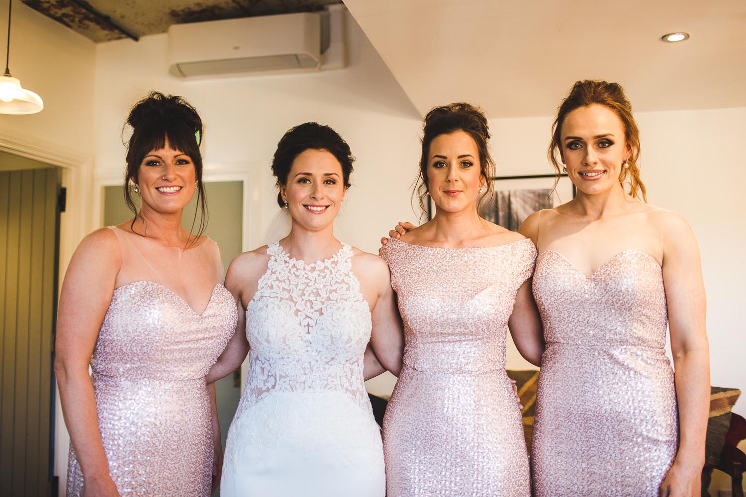 West mill bridesmaids