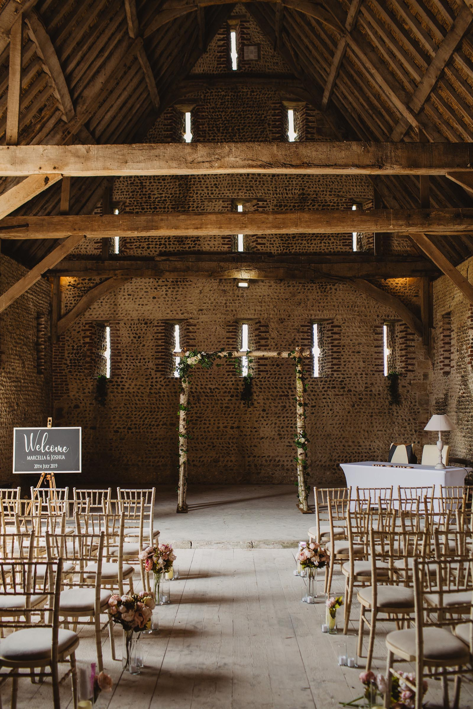 Waxham barn wedding photography