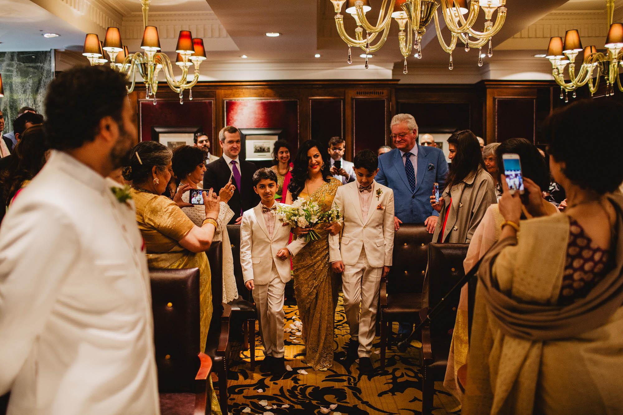 Goring hotel London wedding 14
